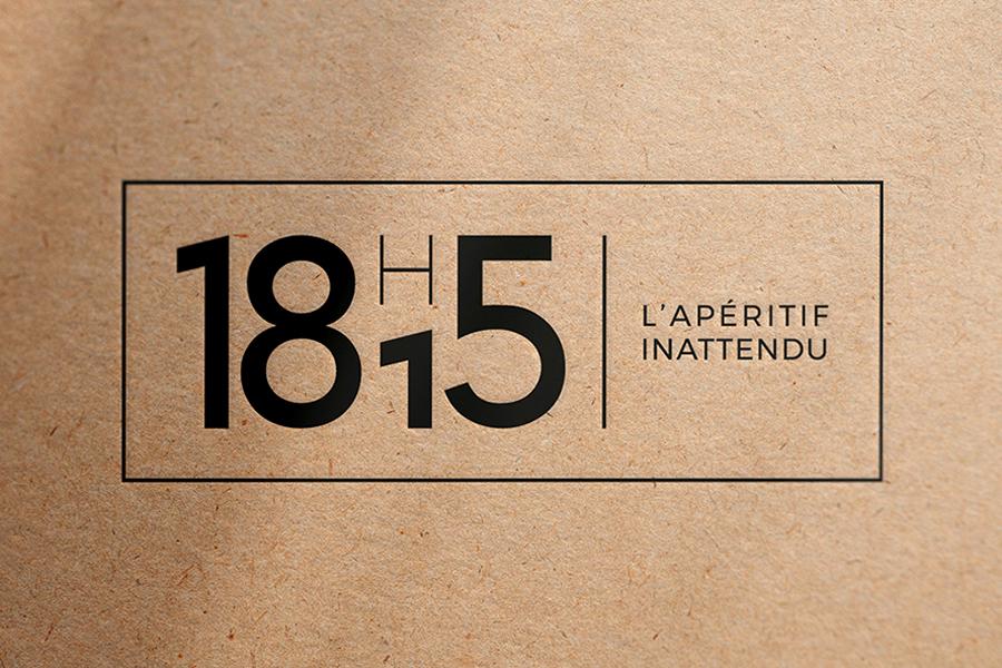 18h15 identité visuelle